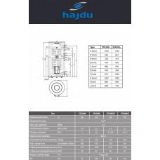 Бойлер косвенного нагрева Hajdu STA 200 C